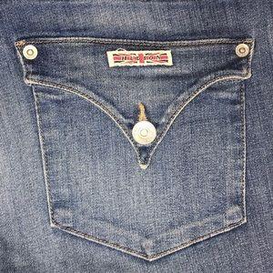 "Hudson Jeans Jeans - Hudson skinny jean medium wash size 28"""